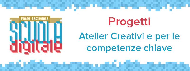 Progetti per Atelier Creativi 2017