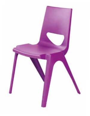 Sedie impilabili per aule scolastiche, collettività,ambienti didattici innovativi.