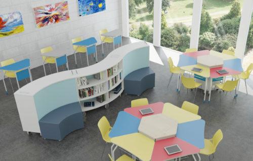 Arredo scolastico per ambienti di apprendimento innovativi e classi 2.0
