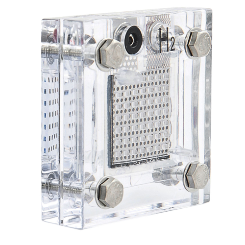 Pila a combustibile PEM rigenerativa trasparente