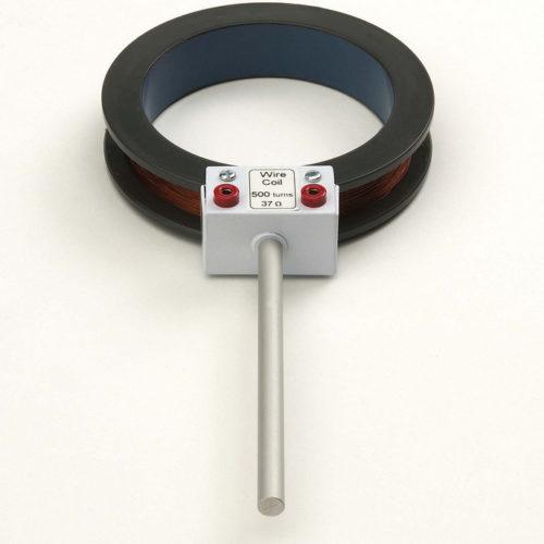 Bobina metallica e magnete 3