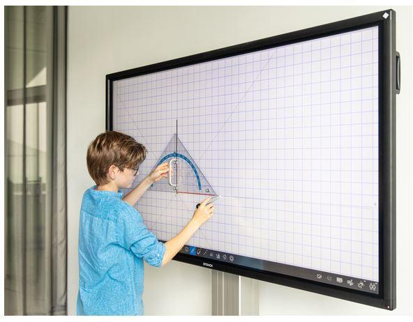 Display interattivo LIM per la scuola o aule di formazione