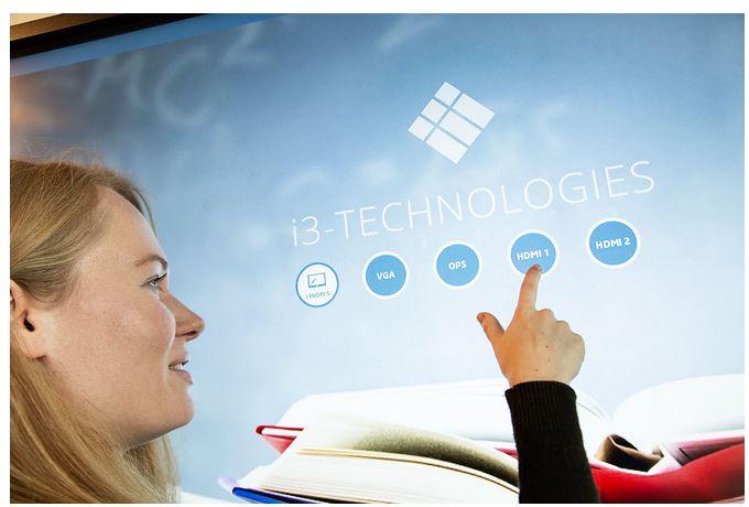 Lim e display touch per scuola, università ed aule di formazione.