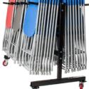 sedie richiudibili con trolley per il trasporto