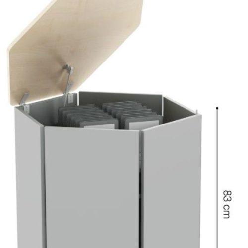 NABLA-ARR-232 Carrello di ricarica esagonale