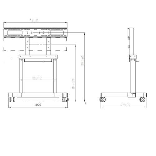 DSPTM95L disegno tecnico