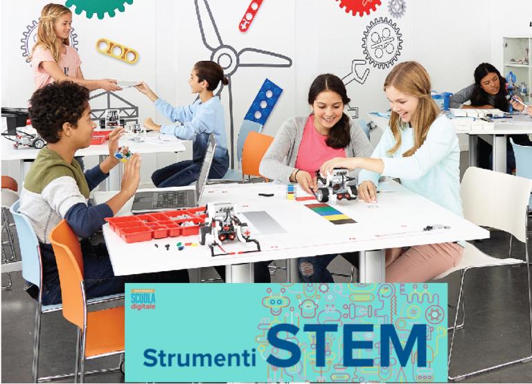 PNSD Spazi e strumenti digitali per le STEM